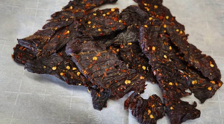 Balsamic Cured Beef Jerky
