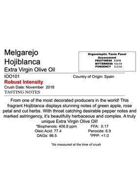 Northern Hemisphere Olive Oil Melgarejo Hojiblanca -Spain