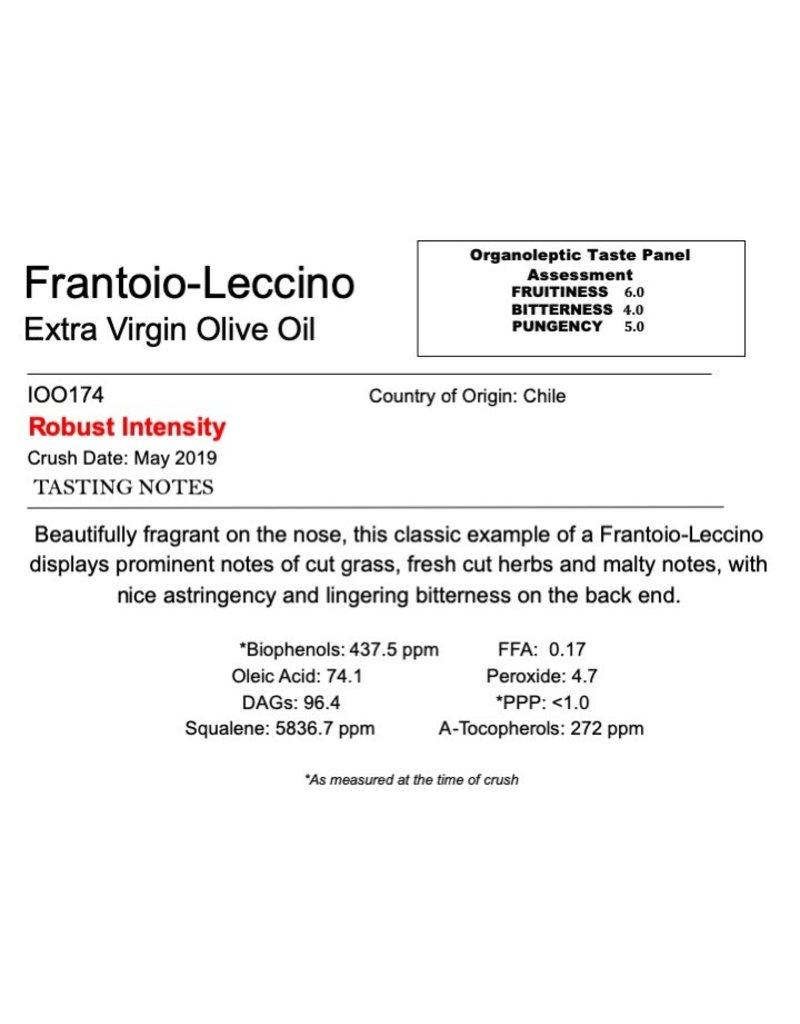 Southern Hemisphere Olive Oil A.L. Estate Frantoio-Leccino-Chile