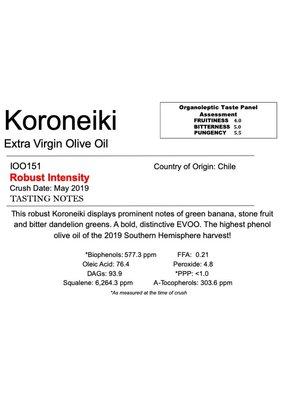 Southern Hemisphere Olive Oil A.L. Estate Koroneiki-Chile
