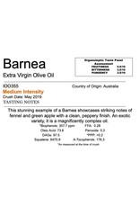 Southern Hemisphere Olive Oil Barnea -AUS