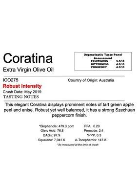 Southern Hemisphere Olive Oil Coratina-AUS