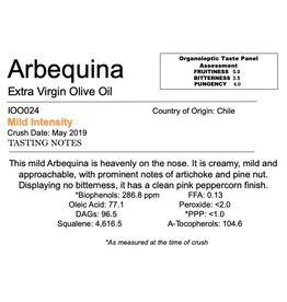 Southern Hemisphere Olive Oil Arbequina-Chile
