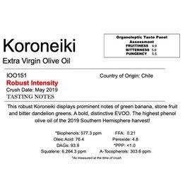 Southern Hemisphere Olive Oil A.L. Estate Koroneiki-Chile IOO151
