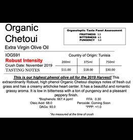 Northern Hemisphere Organic Chetoui IOG561