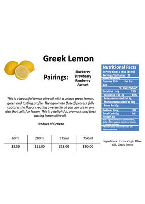 Agrumato Greek Lemon