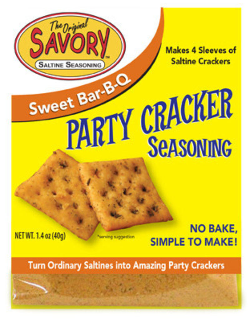 Cracker Seasoning Sweet B-B-Q