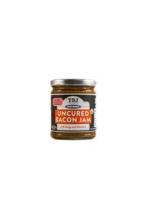 TBJ GOURMET Uncured Bacon Jam Honey Habanaro