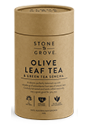Stone & Grove Olive Leaf Tea Green Tea Sencha