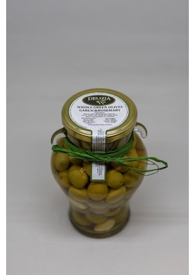 Olives Whole Manzanilla Olive with Rosemary & Garlic