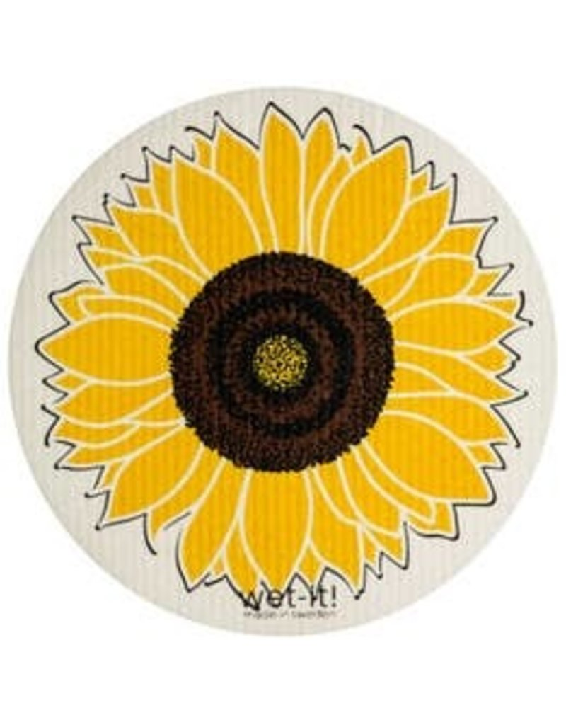 Wet-It Wet-It Round Sunflower