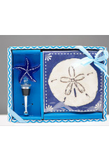 Entertaining Essentials Napkin & Stopper Set Starfish