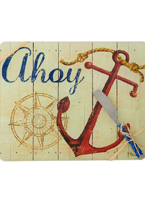 Entertaining Essentials Cheese Board w/Spreader Ahoy