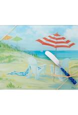 Entertaining Essentials Cheese Board w/Spreader Perfect Beach