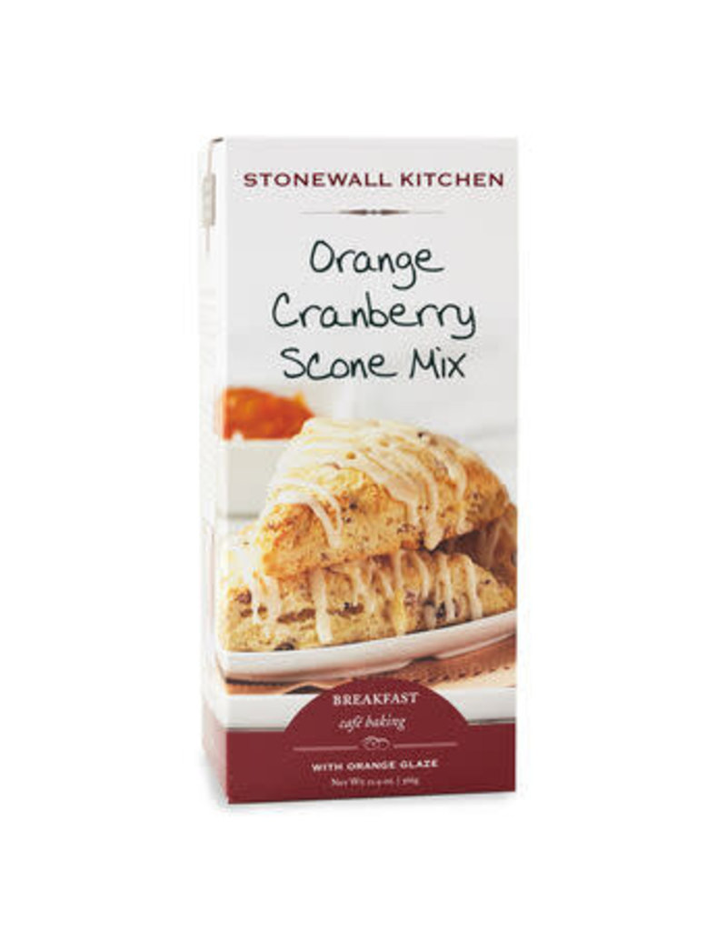 Stonewall Kitchen Stonewall Kitchen Baking Mixes Orange Cranberry Scone w Orange Glaze