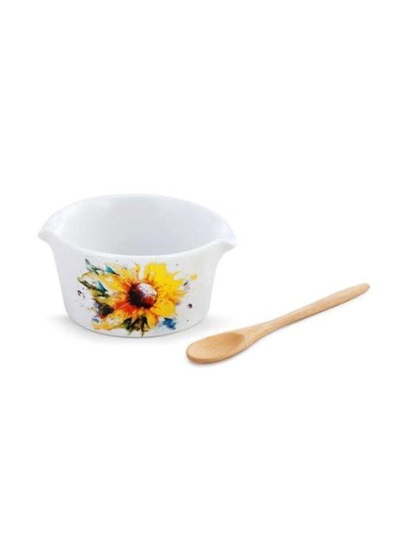 Appetizer Bowl Sunflower