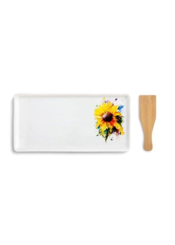 Appetizer Tray Sunflower