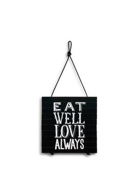 Expandable Trivet Eat Well Love Always