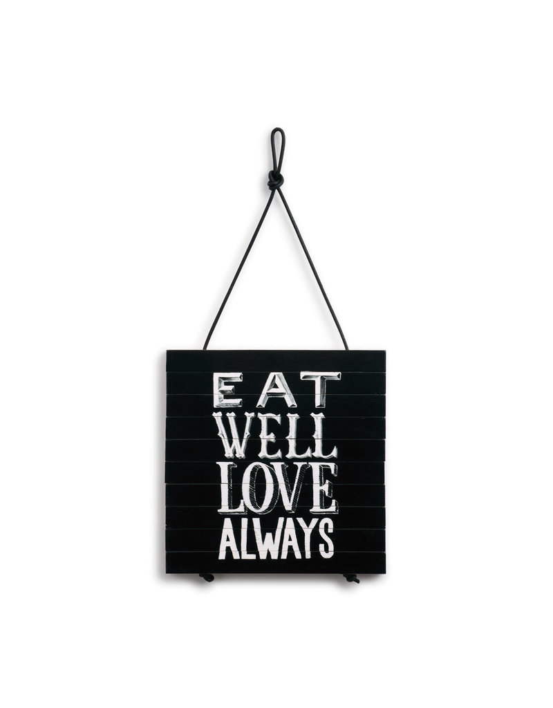 Expandable Trivet Eat Well Love Always