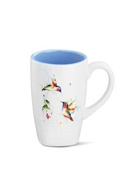 Latte Mug Summer Hummingbirds