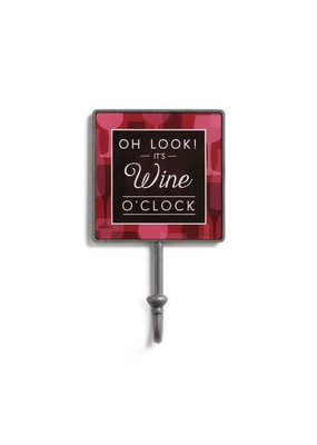 Magnetic Hook Wine O' Clock
