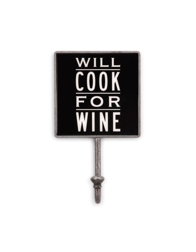 Magnetic Hook Will Cook for Wine