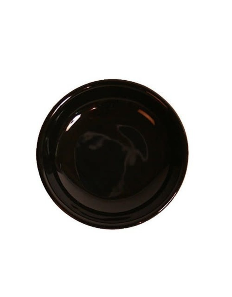Dipping Dishes Black Round
