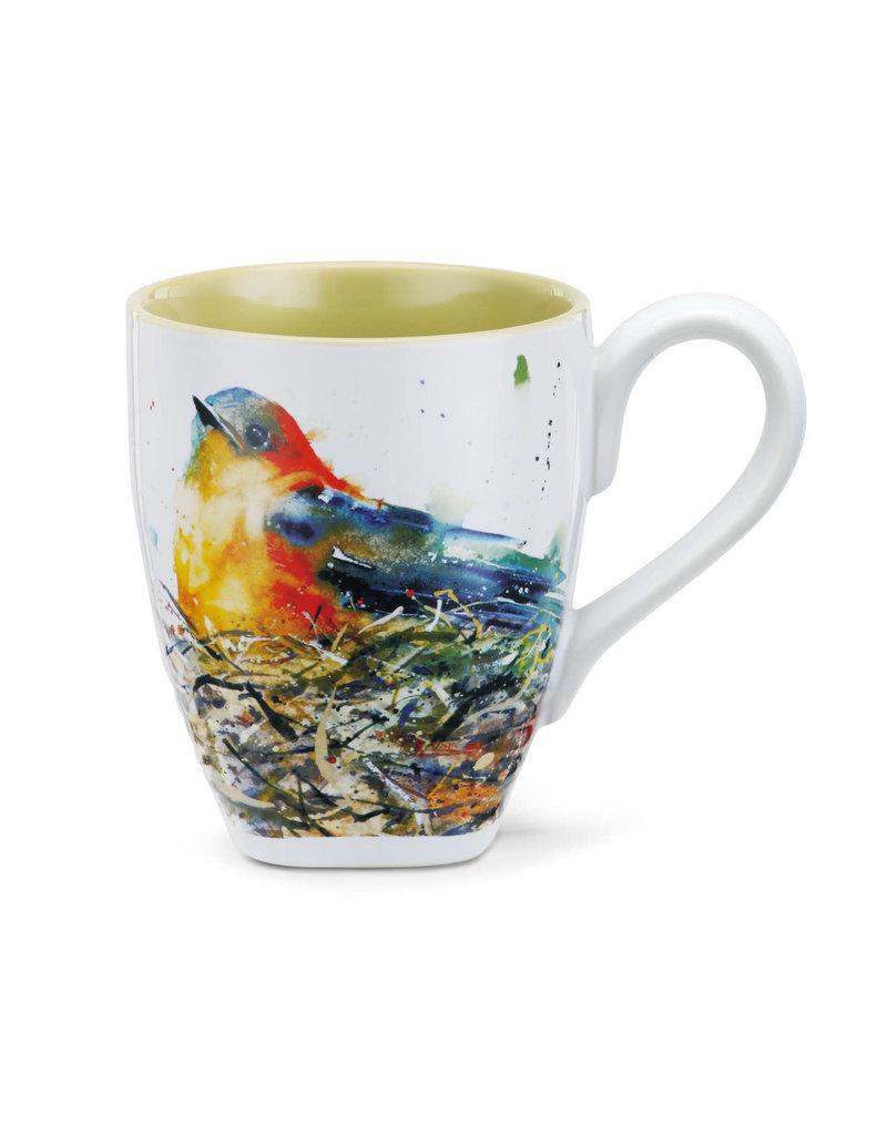 Mugs Bird in Nest