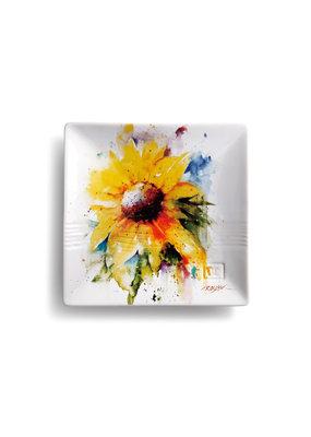 Snack Plate Sunflower