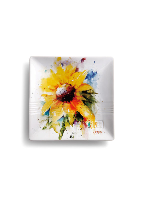 Snack Plate Sunflower