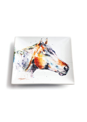 Snack Plate Horse Head
