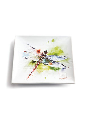 Snack Plate Dragonfly