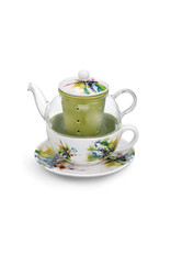 Tea Pot Set Dragonfly