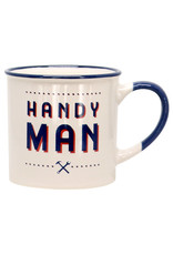 Two's Company Hardware Store Mug Handy Man