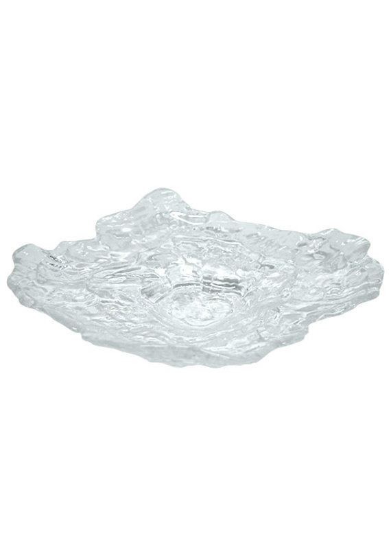 Glass Oyster Plate