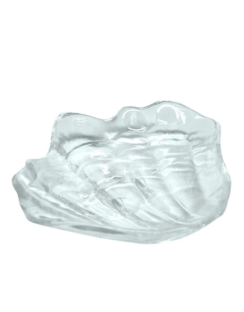 Glass Clam Plate
