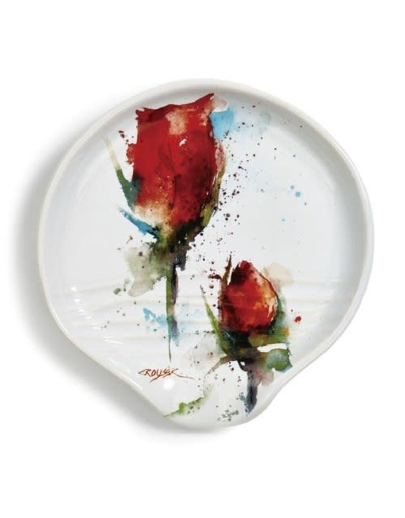 Spoon Rest Rose