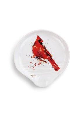 Spoon Rest Redhead Cardinal