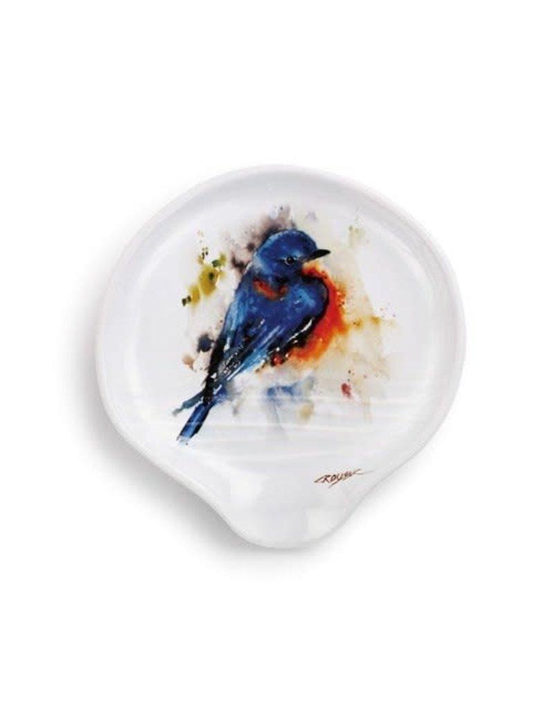 Spoon Rest Springtime Bluebird