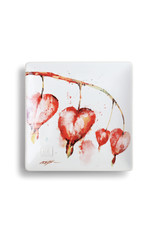Snack Plate Bleeding Heart