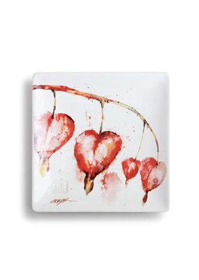 Snack Plate Bleeding Heart