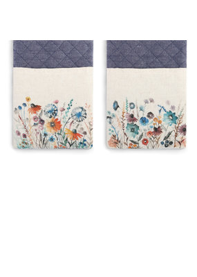 Double Oven Mitt Floral