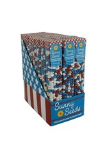 Sunflower Food Company Patriotic Sunny Seeds, 3oz. Tubes