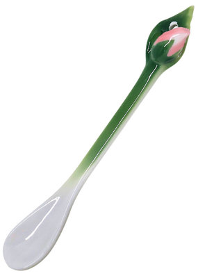 Two's Company Demitasse Spoon Rose