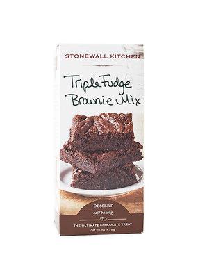 Stonewall Kitchen Stonewall Kitchen Dessert Baking Mix Triple Fudge Brownie