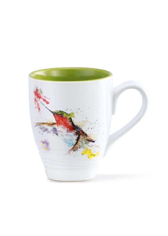 Mugs Hummer and Flower Mug