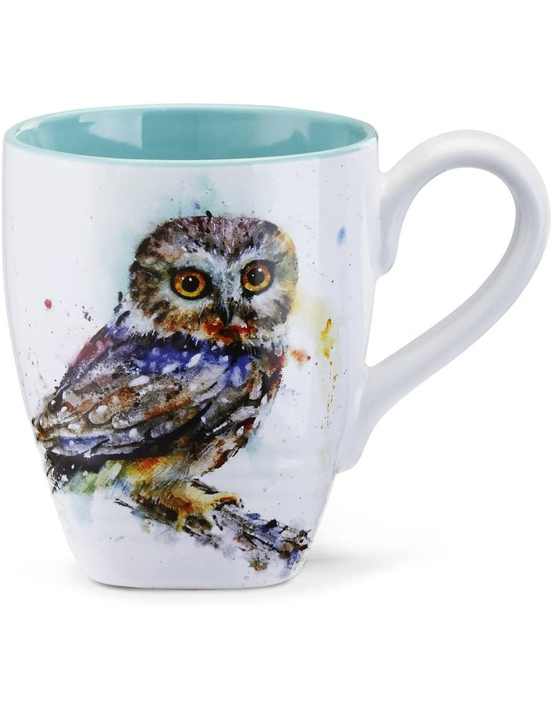 Mugs Saw Whet Owl