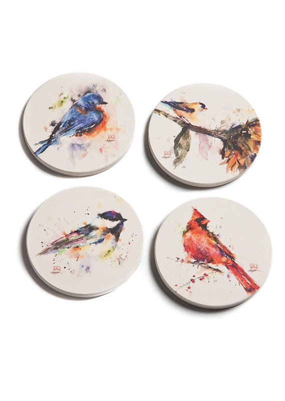 Coaster Set Songbird