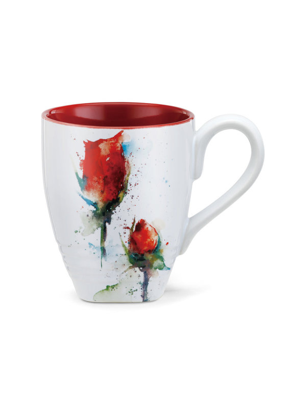 Mugs Red Rose Mug