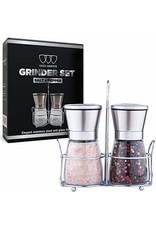 Premium Salt & Pepper Grinder Set of 2